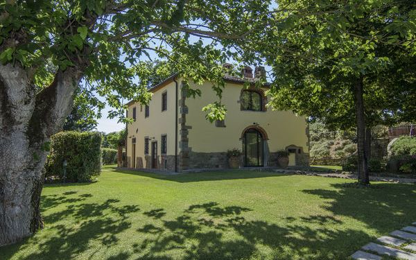 Toskánsko, Montevarchi, Villa Le Fonti