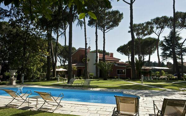 Villa Nocetta, Villa for rent in Rome, Latium