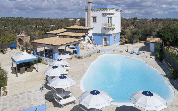 Tower, Villa for rent in Alliste, Apulia