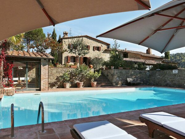 Casina Di Mello, Villa for rent in Gaiole In Chianti, Tuscany