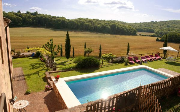 Villa Le Caggia, Country House for rent in Arnano, Tuscany