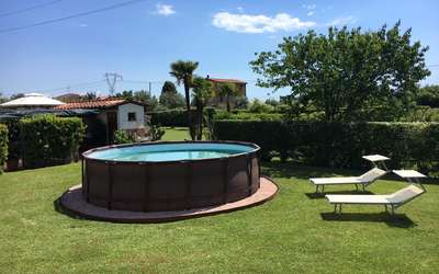 Villa Pergolone: Private Pool