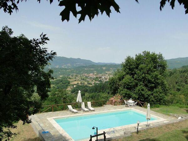 Col Di Maturaia, Villa for rent in Prunecchio, Tuscany