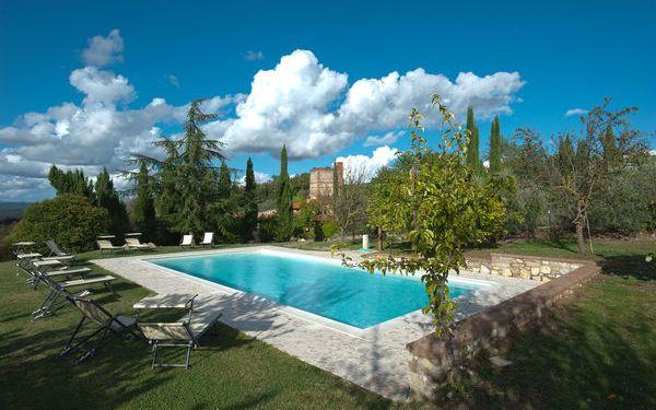 Villa Onnina in affitto a Rapolano Terme