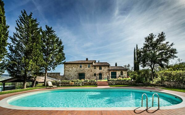Le Due Sorelle, Villa for rent in Camigliano, Tuscany