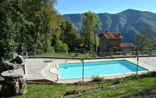 Borgo Mulino, Villa for rent in Vallico Di Sopra, Tuscany