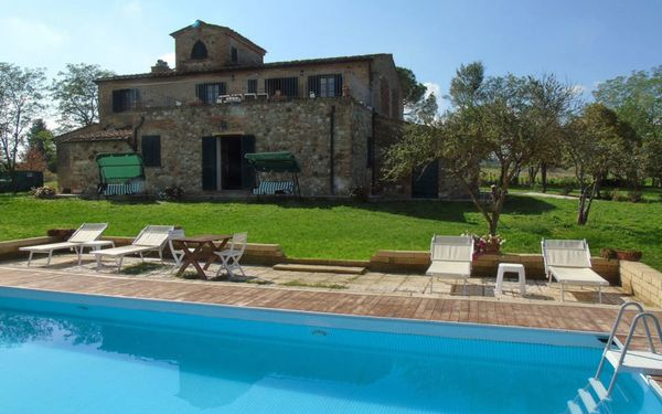 Villa i Sorbi, Villa for rent in Lajatico, Tuscany