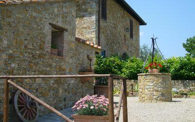 Le Querciole Del Chianti Countryhouse: External area