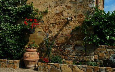Le Querciole Del Chianti Countryhouse: Particular of external area