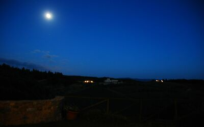 Le Querciole Del Chianti Countryhouse: Moon light