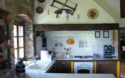 Le Querciole Del Chianti Countryhouse: Kitchen