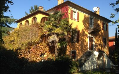 Villa Maria Doria: Villa Maria Doria in autumn