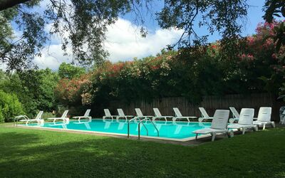 Villa Maria Doria: swimming pool