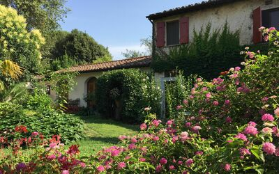 Villa Maria Doria: Villa Maria Doria - Hayloft, Warehouse - Front Garden
