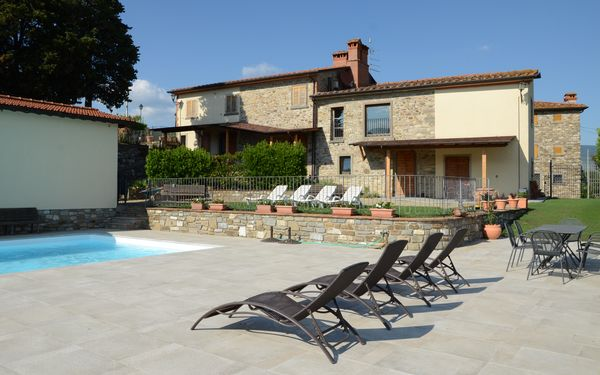 Agriturismo Cincinelli, Holiday Apartment for rent in Capolona, Tuscany
