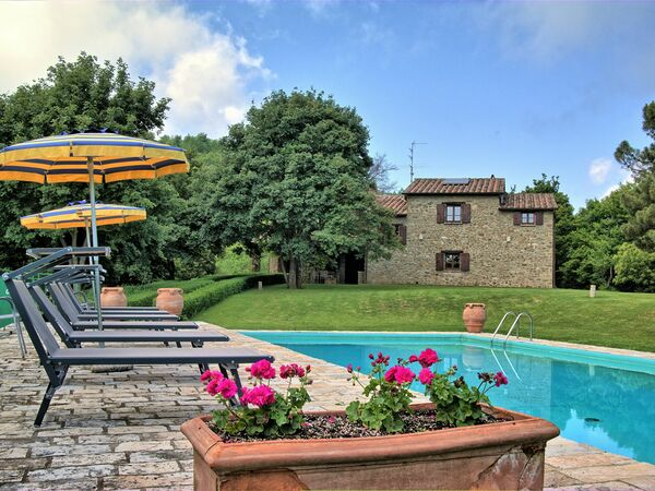 Villa Colle Delle Forche, Villa for rent in Monterchi, Tuscany