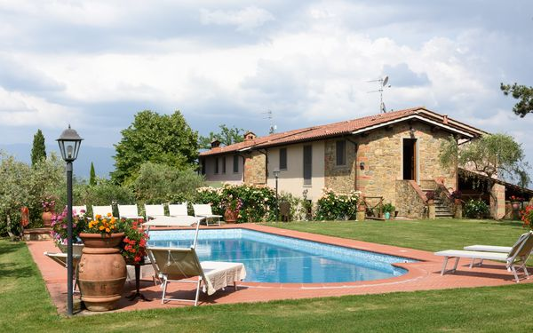 La Poggetta, Villa for rent in Cavriglia, Tuscany