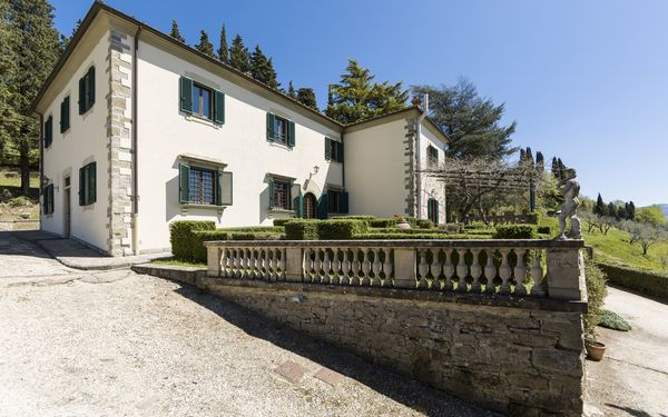 Villa Camilla, Villa for rent in Rufina, Tuscany