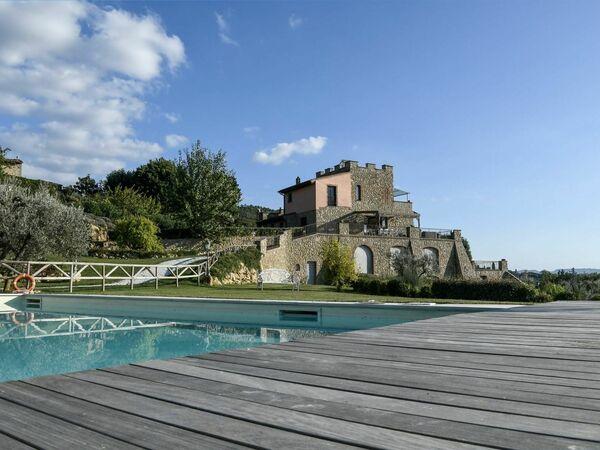 Casale Villa Di Cinzia in affitto a Montaione