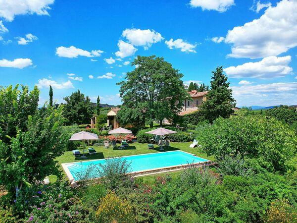 Villa Sonia, Villa for rent in Madonna Di Pietracupa, Tuscany
