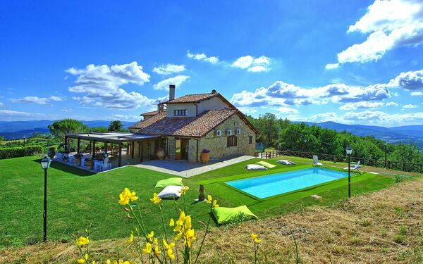 Villa Cedrone, Villa for rent in Città Di Castello, Umbria