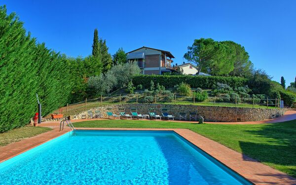 Casa Vasco, Villa for rent in Sciano, Tuscany