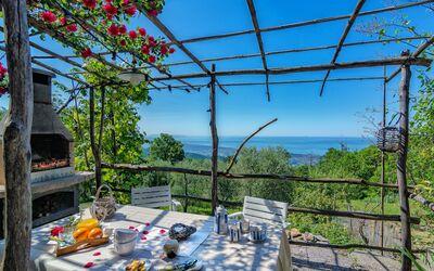 L'olivo Sul Mare: Ferienhaus mit Meerblick