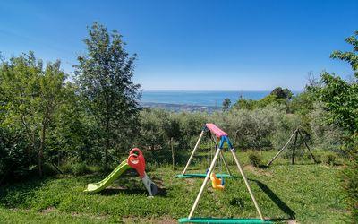 L'olivo Sul Mare: Kinderfreundliches Haus