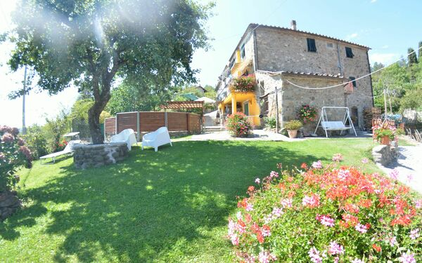 Casa Di Renzo, Country House for rent in Lanciole, Tuscany