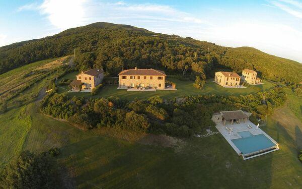 Toskánsko, Castellina Marittima, La Lepraia Estate