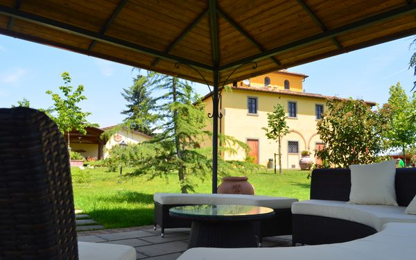 Villa Santa Caterina, Villa for rent in Fratta-santa Caterina, Tuscany