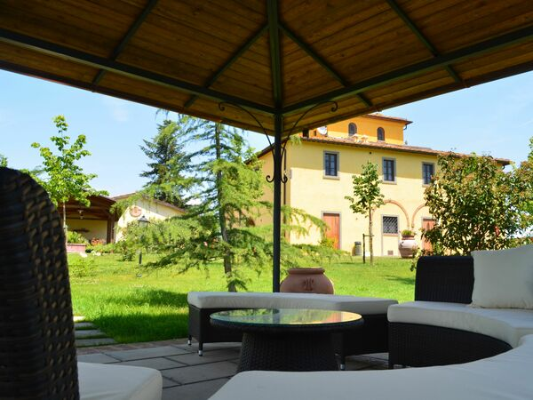 Villa Santa Caterina, Villa for rent in Fratta-santa Caterina, Tuscany
