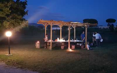 Incanto Toscano: area barbeque