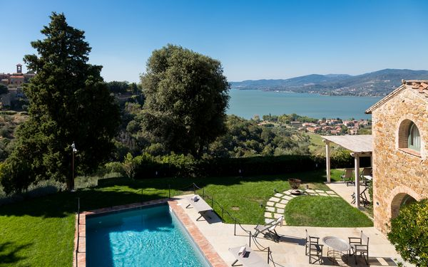 Villa Torre, Villa for rent in Torricella, Umbria