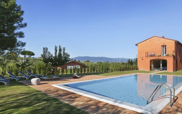 Uva, Villa for rent in Colle Di Compito, Tuscany