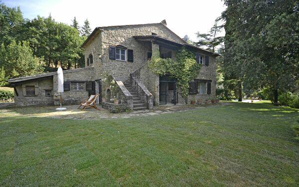 Villa Del Castagno, Villa for rent in Il Castagno, Tuscany