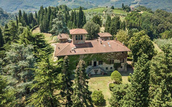 Toskánsko, Malmantile, Villa Piandaccoli