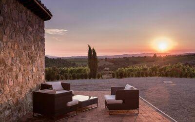 Villa Casanova: Sunset