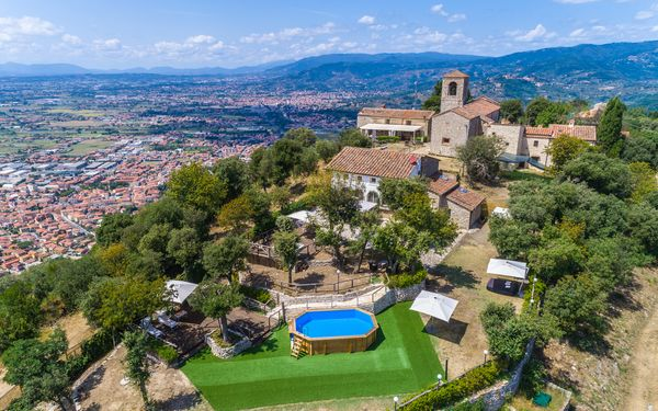 Villa Del Santo Bastiano, Villa for rent in Monsummano Terme, Tuscany