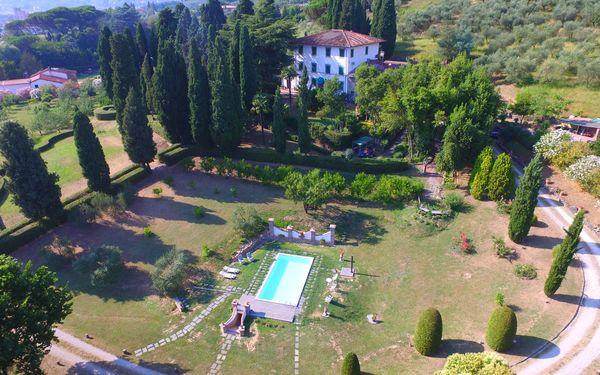 Villa Il Borghetto, Villa for rent in Uzzano, Tuscany