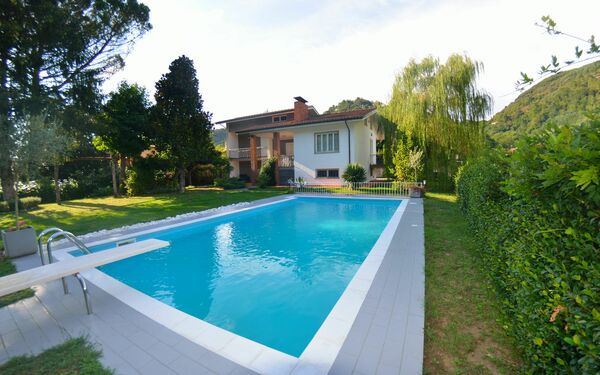 Villa D&P, Villa for rent in Monsagrati, Tuscany