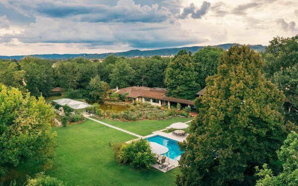 Villa Il Roseto, Villa for rent in Pieve Al Toppo, Tuscany