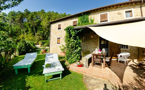 Podere L'istrice, Country House for rent in Massa e Cozzile, Tuscany