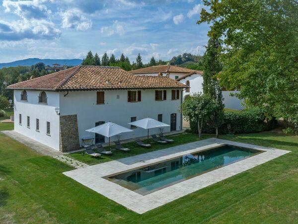 Villa Del Pozzo, Villa for rent in Vecchietto, Tuscany