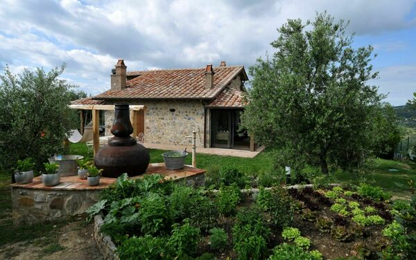Villa Cerchiaia, Villa for rent in Seggiano, Tuscany