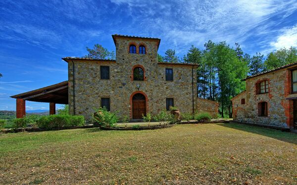 Villa Fabbri, Villa for rent in Montebenichi, Tuscany