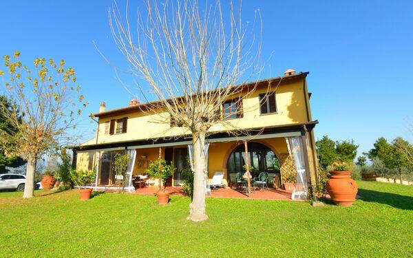 Villa Poggio Colombaie in  Montecastello -Toskana