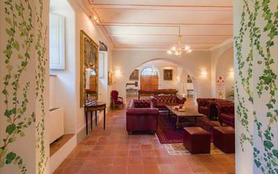 Villa Ivana: Living room