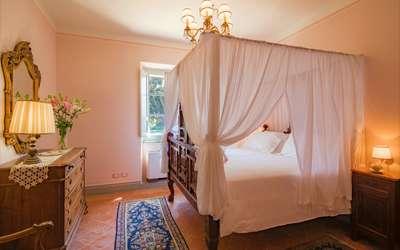 Villa Ivana: Romantic bedroom