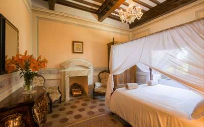 Villa Ivana: Romantic bedroom